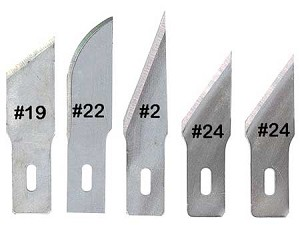 Assorted Heavy Duty American Made Blades