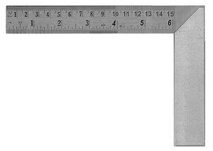 Machinists Square 6 inch with Ruler