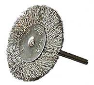 Large Steel Wire Wheels 1 1/2 inch