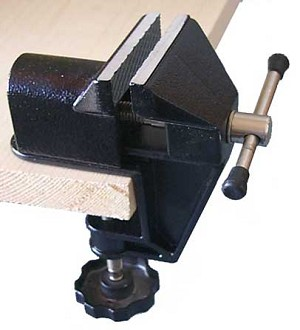 Mini Fixed Table Vise 1 1/4 inch