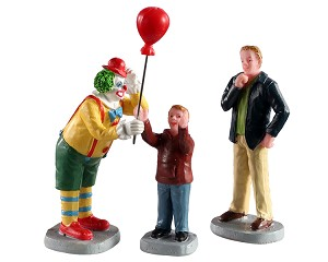 Lemax Village Collection Friendly Clown Set of 3 # 02953