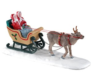 Lemax Village Collection North Pole Sleigh Ride # 03514
