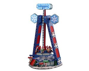 Lemax Village Collection The Spinning Snowflake with Adaptor # 04737