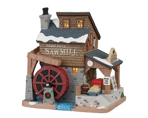 Lemax Village Collection Herschel's Sawmill # 05625