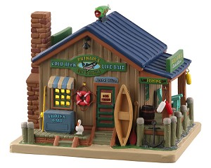 Lemax Village Collection Putnam's Bait & Tackle # 05634