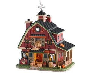 Lemax Village Collection Hickory Hills Farm # 05638