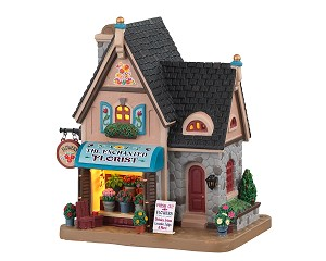 Lemax Village Collection The Enchanted Florist # 05657