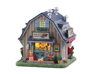 Lemax Village Collection Bart's Country Produce & Crafts # 05663