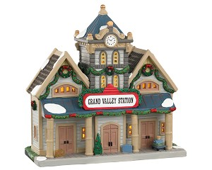 Lemax Village Collection Grand Valley Station # 05669