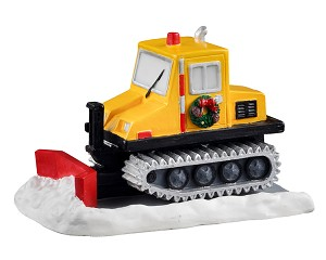 Lemax Village Collection Serious Snowplow # 13560