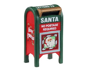 Lemax Village Collection Christmas Mailbox # 14842