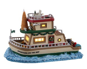 Lemax Village Collection Jonathan's Houseboat on the Bay # 15754