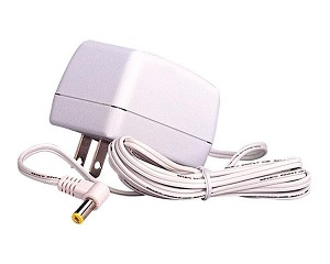 Lemax Village Collection AC Power Adaptor With 1 Output Jack 4.5v White - 700mA