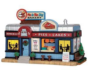 Lemax Village Collection Pie In The Sky Bakery # 55001