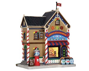 Lemax Village Collection Sweetalicious Candy Shop # 55008