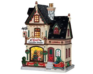 Lemax Village Collection Noel's Christmas Shoppe # 65154