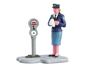 Lemax Village Collection Meter Maid # 72534