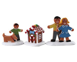 Lemax Village Collection Fido's New House Set of 3 # 72569