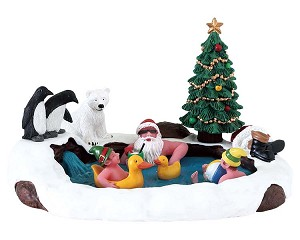 Lemax Village Collection North Pole Hot Springs # 73331