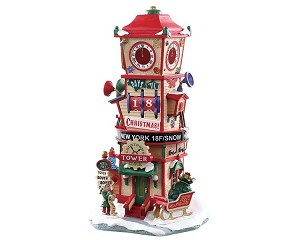 Lemax Village Collection Countdown Clock Tower # 73333