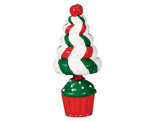 Lemax Village Collection Peppermint Tree Topiary # 74204