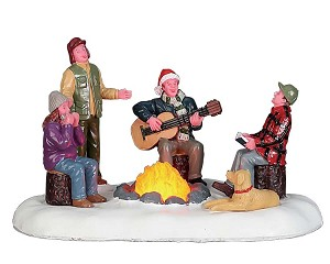 Lemax Village Collection Songs By The Fire Battery Operated # 74225