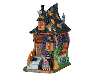 Lemax Spooky Town Witches Bungalow # 75183