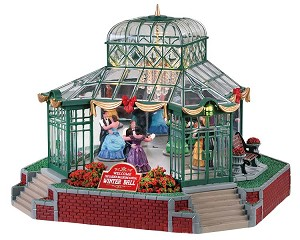 Lemax Village Collection The Garden Ballroom with Adaptor # 75189