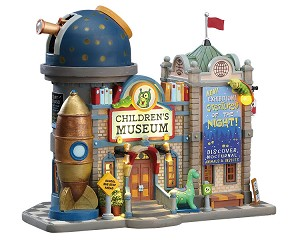 Lemax Village Collection Children's Museum Battery Operated # 75241
