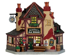 Lemax Village Collection Hamilton's Ale House # 75250
