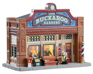 Lemax Village Collection Little Buckaroo Barbershop # 75253