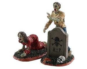 Lemax Spooky Town Zombies Set of 2 # 82567
