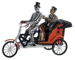 Lemax Spooky Town Pedicab Ride # 82572
