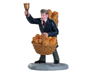 Lemax Village Collection Bread Peddler # 82590