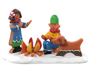 Lemax Village Collection Campfire Cookies # 82592