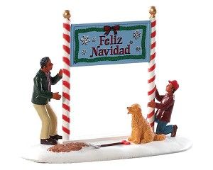 Lemax Village Collection Feliz Navidad # 83352