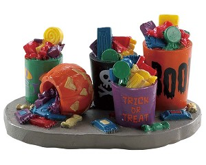 Lemax Spooky Town Buckets Of Candy # 84341