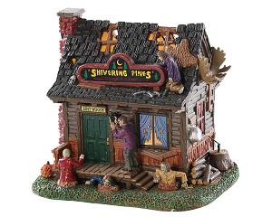 Lemax Spooky Town Creepy Cabin # 85309