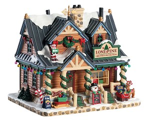 Lemax Village Collection Lone Pine Christmas Decorations # 85323