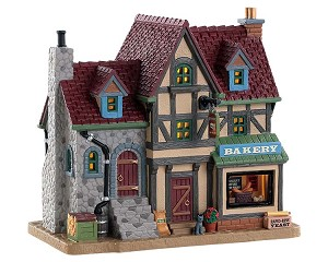 Lemax Village Collection Benjamin's Bakery # 85341