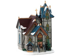 Lemax Village Collection All Ye Faithful Church # 85347