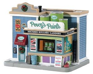 Lemax Village Collection Percy's Paints # 85381