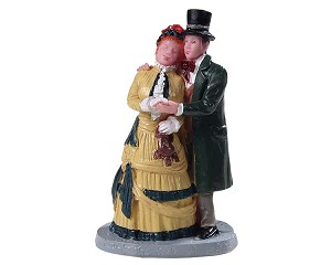 Lemax Village Collection Dickens Couple # 92772