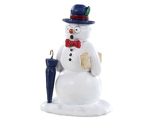 Lemax Village Collection Dapper & Debonair Snowman # 92781