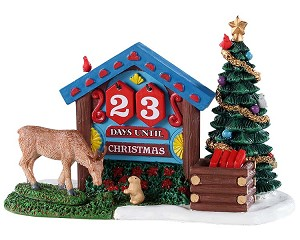 Lemax Village Collection Woodland Countdown # 93436