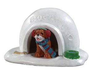 Lemax Village Collection Igloo Doghouse # 94552