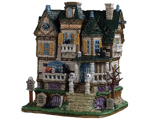 Lemax Spooky Town The Haunted Knoll # 95442