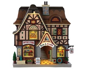 Lemax Village Collection The Lanes - Arts and Crafts Battery Operated # 95472