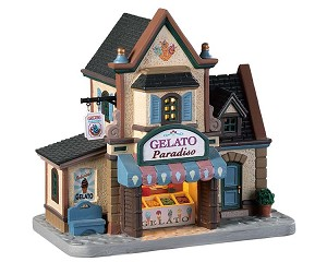 Lemax Village Collection Gelato Paradiso # 95494