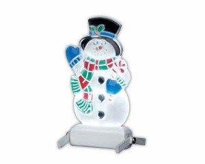 Lemax Village Collection Snowman Yard Light # 04242